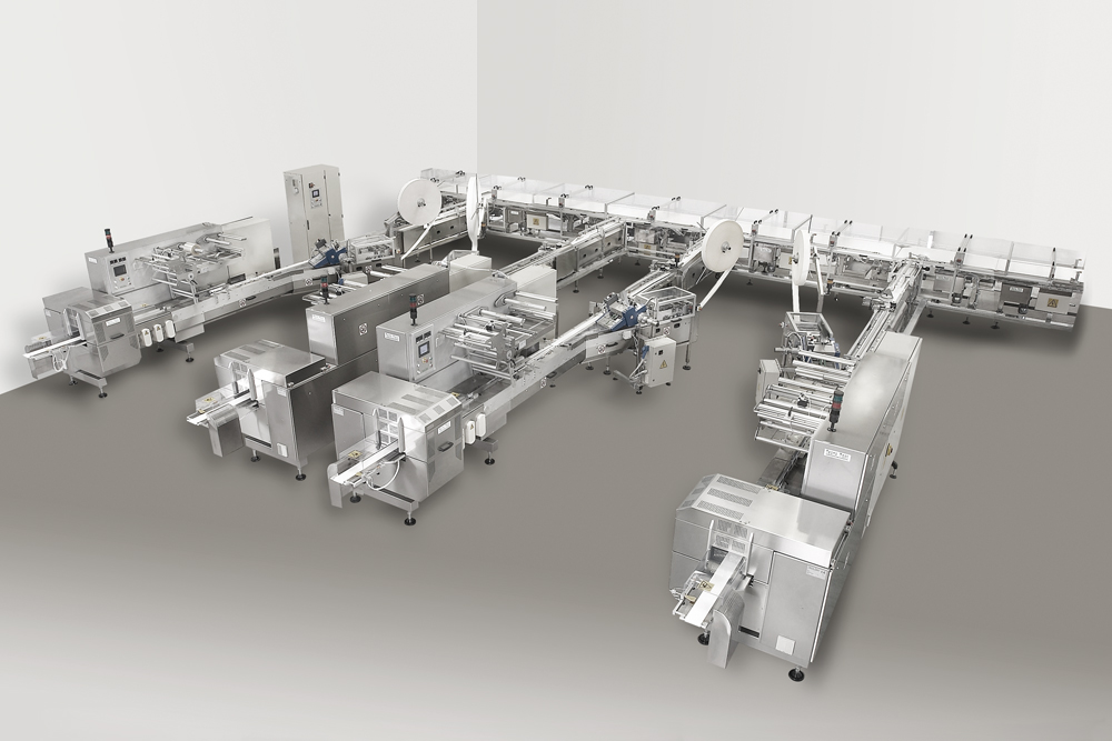 Sponge Cake Packaging Lines